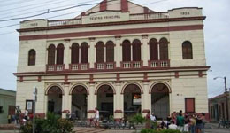 Main Theater in Camagüey cuba